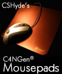 C4 Mousepads with Teflon Surface