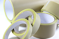 Skived PTFE Tape made with Teflon® fluoropolymer w/Silicone Adhesive
