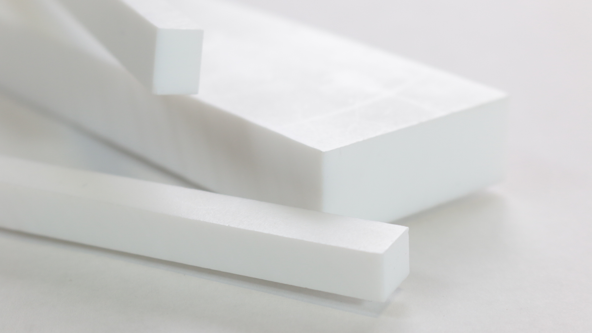 Virgin Ptfe Polytetrafluoroethylene Rectangular Bars
