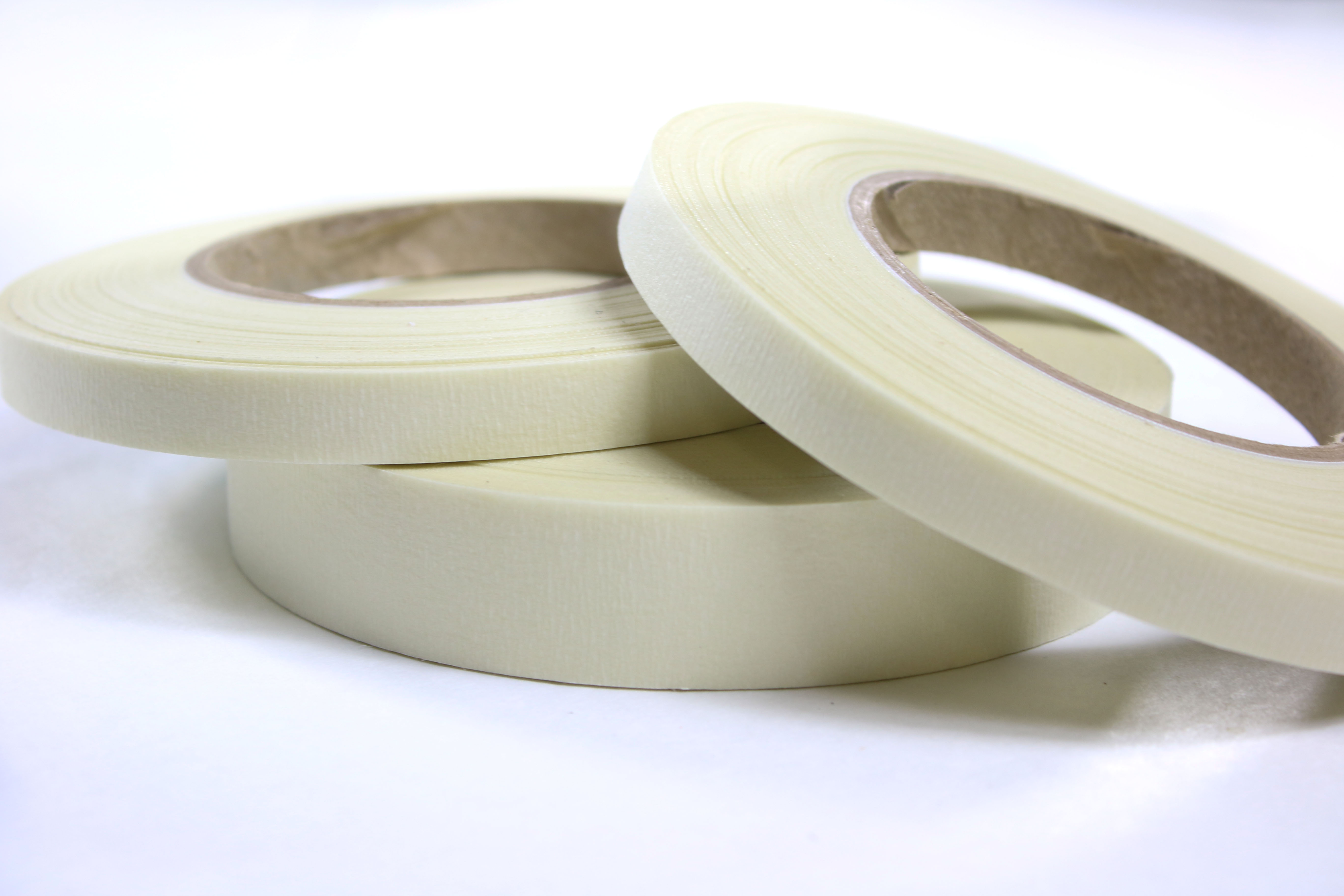 Adhesive Tapes CS Hyde High Temperature Fiberglass  Double Sided Silicone Adhesive Tape Ivory Business & Industrial