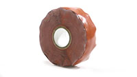 Black Silicone Self Fusing Tape- 78-20R-Orange