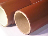 TFL Red Extended Life Tape made with Teflon® fluoropolymer/Tef-Lam Fiberglass fabric laminated with PTFE