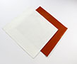 Adhesive backed silicone sheets
